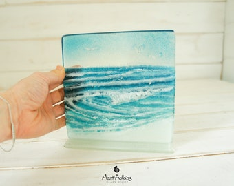 """Rolling Wave Glass 15cm (6"""") 