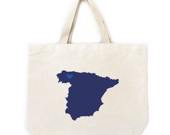 Spain Welcome Bags, Destination Wedding Welcome Totes, Gift Bags for Weddings and Events, 6 unit min, Bulk Pricing