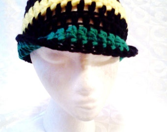 Say It Simply....Crocheted Mens Hat