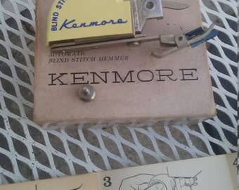 Kenmore automatic blind stitch hemmer sewing foot USA
