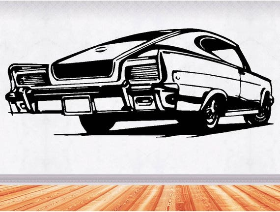 66 Rambler Muscle Car Decals Muscle Car Sticker Hot Rod Etsy