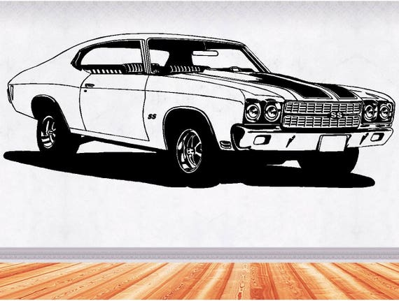 69 Gto Muscle Car Decals Muscle Car Sticker Hot Rod Etsy