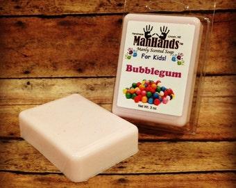 Bubblegum Scented Soap 3 oz. Bar