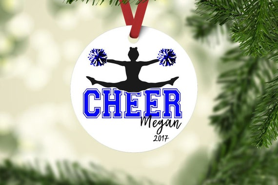 image 0 - Cheerleader Ornament Cheer Ornament Cheerleader Christmas Etsy