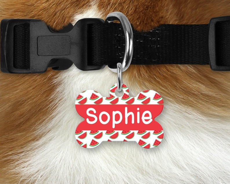 personalized dog tag 4th of July dog tag Patriotic Pet Id Tag dog bone shaped tag fourth of July dog tag Flag Pet ID Tag