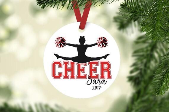 - Cheerleader Ornament Cheer Ornament Cheerleader Christmas Etsy