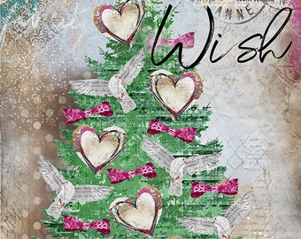 Wish Tree. Candy Colored Edition