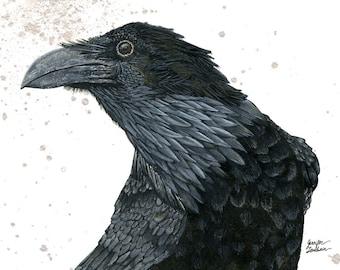 Art Print. Raven Croft 2