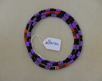 Vodou Lwa Necklaces Baron Maman Brigitte Ghede Ancestors Ghede Nibo