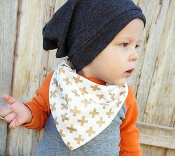 BABY SLOUCHY BEANIE grey Toddler slouchy beanie Kids  9a2e3205970