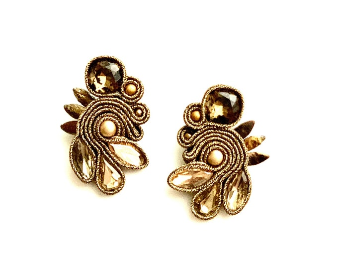 Medium Swarovski Earrings
