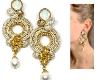 Eliana Bridal Statement Earrings