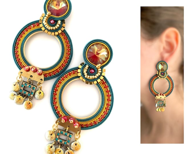 Carmen Statement Unique earrings