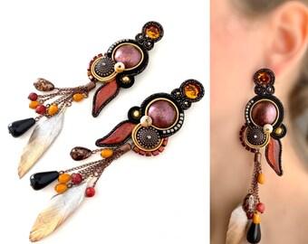 Mali Statement Unique earrings