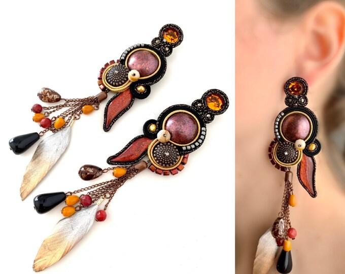 Mali Statement Unique earrings PRE ORDER