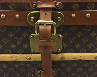 df02a2356fb9 Louis Vuitton Steamer Trunk c. 1960s