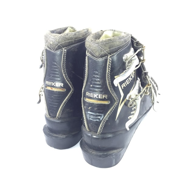 Ski Boots Rieker Leather Vintage 1960's German