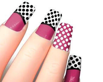 Polka Dot Nail Stencils DIY Nails