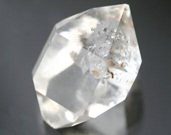 Herkimer Diamond quartz crystal, AA gemstone, double terminated quartz crystal, rare manifestation crystal, clear quartz meditation stone