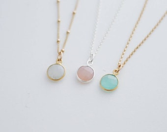 Birthstone Solo Necklace