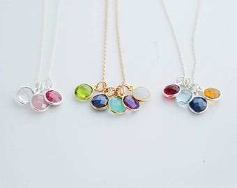Birthstone Necklace for Mothers & Grandmothers!