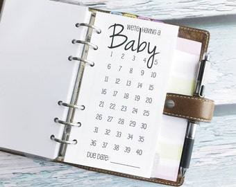 Printed Personal Size Pregnancy Kit