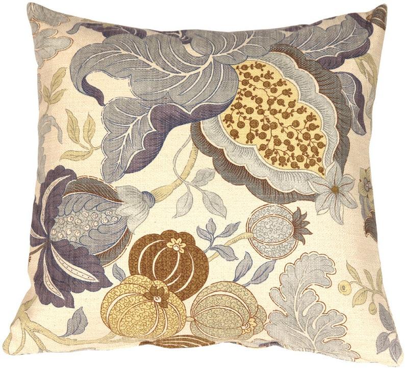 Harvest Floral Throw Pillows Pillow Decor