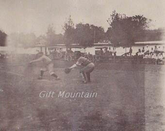 Digital Download Baseball Player Snapshot Circa 1910 Believed To Be On Cordele Georgia Team