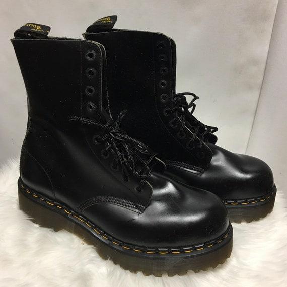 Vintage Dr. Martens 10 Eyelet Boots size 13 US