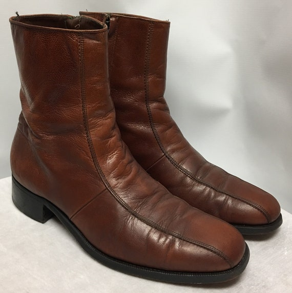 Vintage Florsheim Brown Boots size 8B