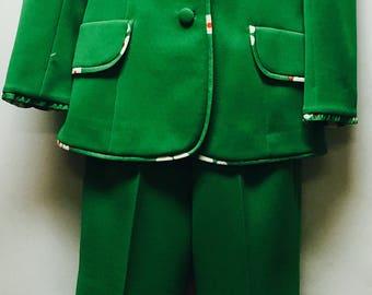 Vintage Lilli Ann Green Suit