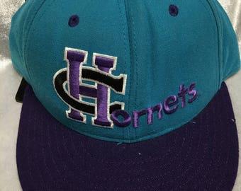 Vintage Diamond Collection Charlotte Hornets Cap