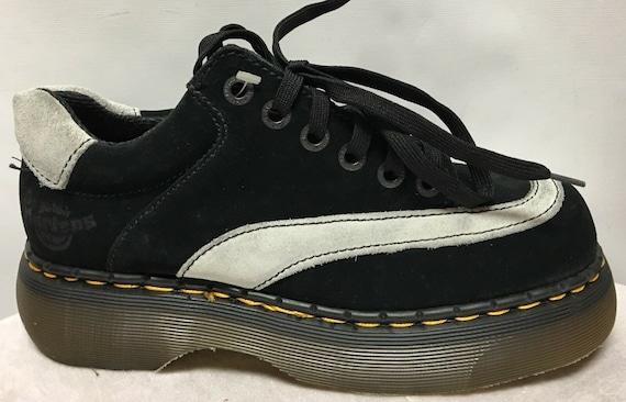 Vintage Dr. Martens Black+Ice Shoes