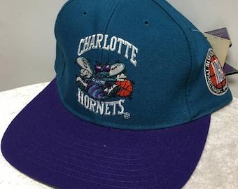 Vintage Charlotte Hornets Cap