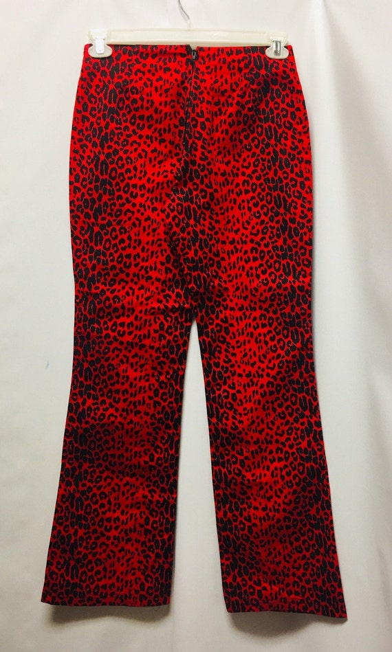 Beware 90s Animal Print Pants - image 1