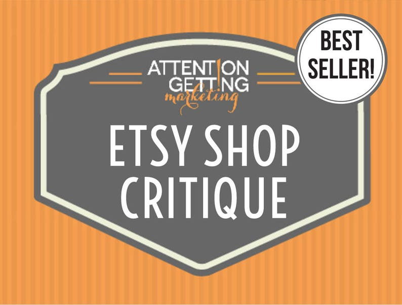 9e6c00e2ea99a Etsy Shop Critique – BEST SELLER! Get a Personalized Written Critique of  Your Shop with Actionable Tips, SEO Keywords & How to Sell on Etsy