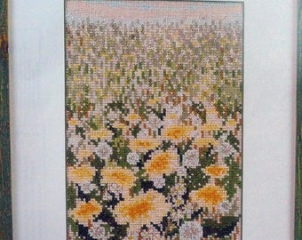 dandelion field by permin of copenhagen 12-0351