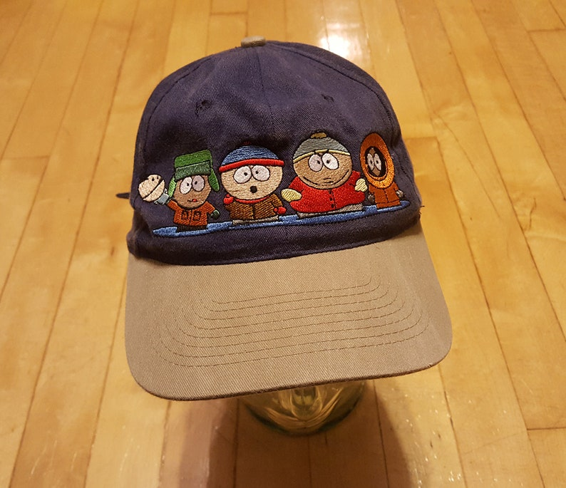 90s South Park Hat Kyle Stan Cartman Kenny Ike  2266335661a