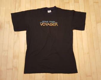 1995 Star Trek Voyager T Vintage Star Trek SCI-FI