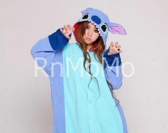 Adult Stitch Costume Etsy