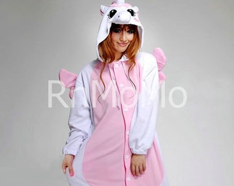Cosplay Romper Charactor animal Hooded Night clothes Pajamas Pyjamas  Costume sloth outfit Sleepwear pink unicorn 337bcc5a4