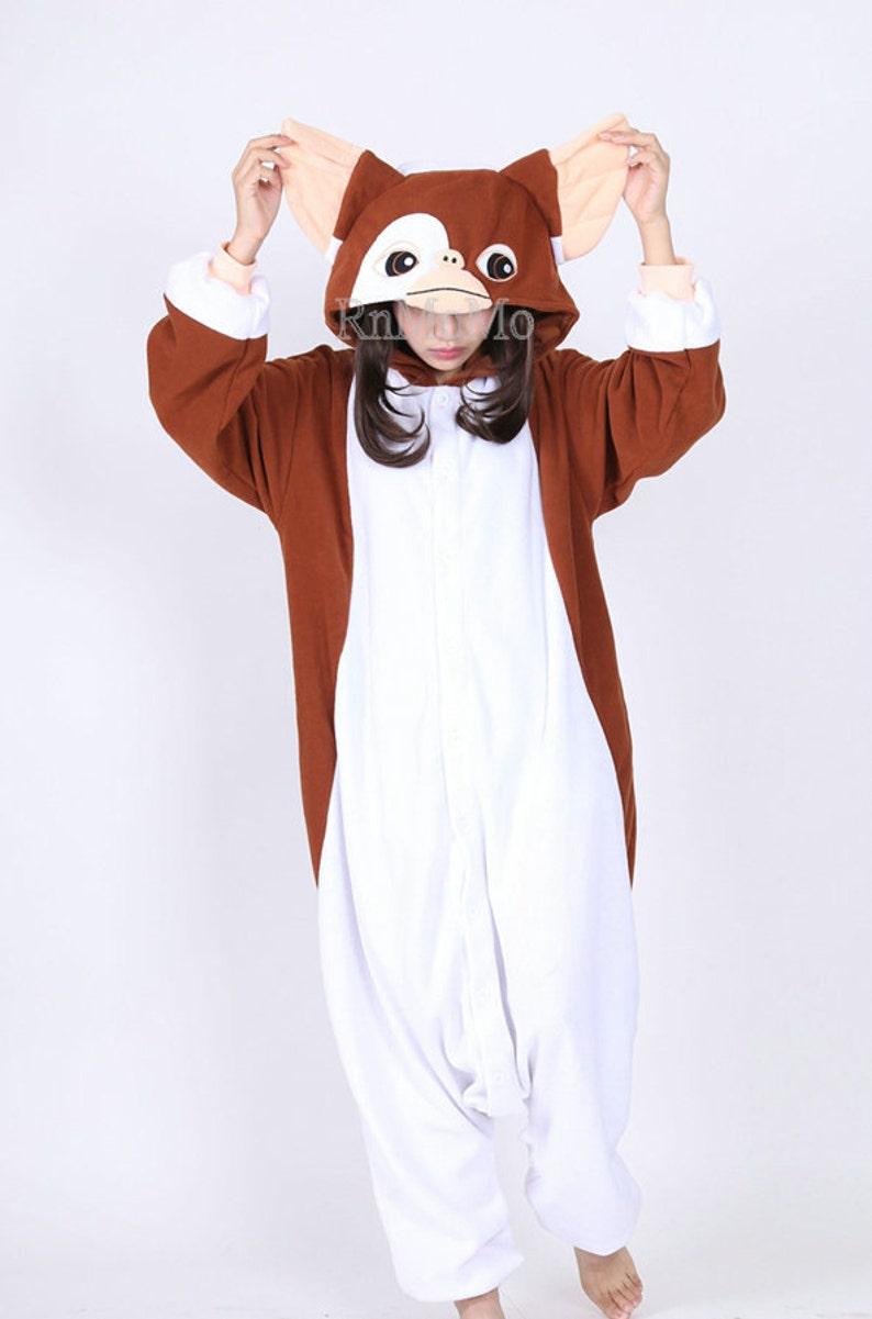 fdea83a06089 KIGURUMI Cosplay Romper Charactor animal Hooded Nightclothes
