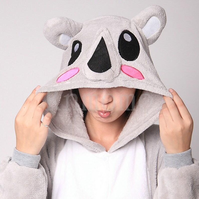 fab349b208 Kigurumi Koala Costume Koala Pajamas for Women Men Girl Boy