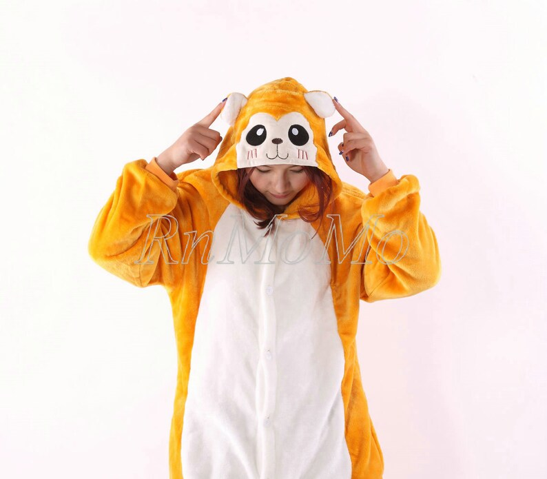 cd538c6c6844 KIGURUMI Cosplay Romper Charactor animal Hooded PJS Pajamas