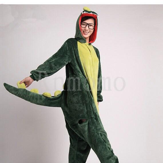 Dinosaur Unisex Adult Animal Onsie88Onesie12 Anime Cosplay Pyjama Kigurumi H1