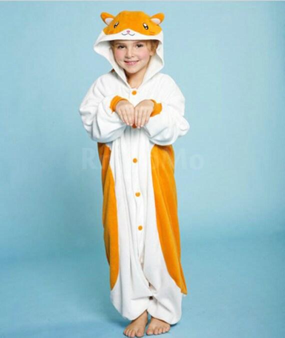 bfc54d31e9cb Halloween KIGURUMI Animal Pajamas Pyjamas Costume Onesie Kid