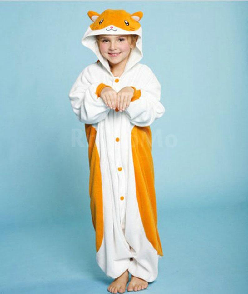0dbfbbb66 Halloween KIGURUMI Animal Pajamas Pyjamas Costume Onesie Kid | Etsy
