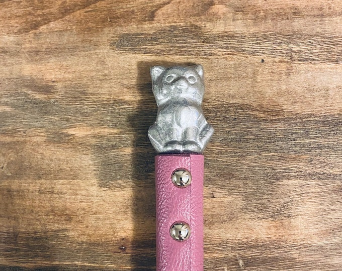 Pink Kitty Flogger Pair
