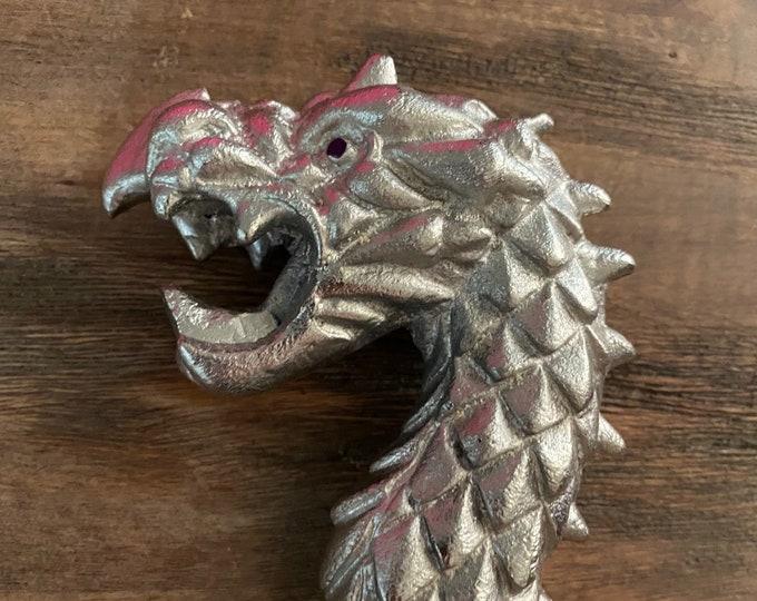 Deep Dark Purple Dragon Flogger