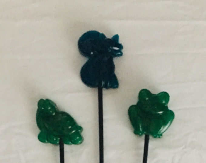 Wicked Wands - Fox, Turtle, Frog